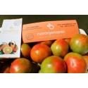 Caja Mixta 14kg de Naranja Mesa (9kg) +  Tomate Valenciano (5kg)