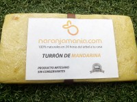 CRAFTSMEN TURRÓN MANDARIN 250 grs